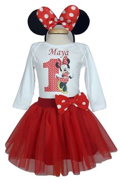 Kids Store, Minnie Mouse, Disney Characters, Red, Handmade, Character, Hand Made, Kids Shop, Handarbeit