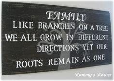 Kammy's Korner: Customized Signs by Kammy's Korner Family quote