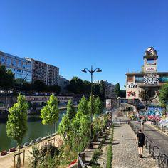 Point éphémère canal saint Martin Paris