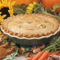 Such a great & easy chicken potpie recipe - looking for ways to make it healthier, too :)