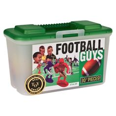 "Kaskey Kids Football Guys - Red and Blue- super fun for boy or girl to ""play along"" with the game .  WE have it in store."