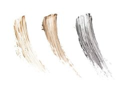 The Younique eyebrow set consists of an eyebrow pencil, brush and brow gel. You can choose from three colours, from left to right, light - medium - dark.