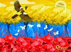 Venezuela, Venezuelan flag, Olivares,