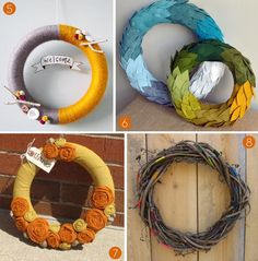 Roundup: 20 Festive DIY Wreaths for Fall!
