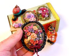 Ronit Golan - Polymer Clay Joy - Inspire to Create: Vintage Me