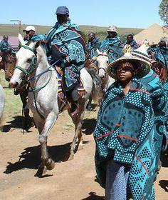 "yagazieemezi: "" CULTURE & TRADITION: Tribal blankets have been marked with cultural significance and history by various African cultures and nations. Basotho tribal blankets distinguish this nation."