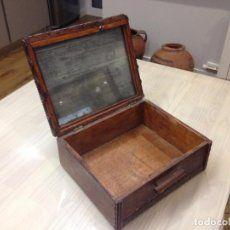 caja de tocador con espejo y clasificador inter - Comprar Cajas Antiguas en todocoleccion - 46500753