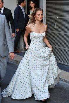 Purple Mini Dresses, Pretty Dresses, Beautiful Dresses, Emma Watson Style, Emma Watson Dress, Grad Dresses, Formal Dresses, Pretty People, Beautiful People