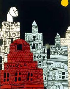 Fun way to do city landscapes City Collage, Collage Ideas, Art Ideas, Cool Art Projects, Drawing Projects, Cityscape Art, City Scapes, Building Art, City Illustration