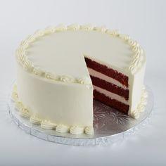 RED VELVET CLÁSICO Pastel húmedo red velvet con queso crema tradicional