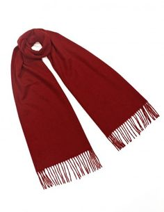 Classic Solid Color 100% Luxurious Wool Scarf