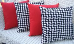 throw pillows i can make for Ray's man cave.