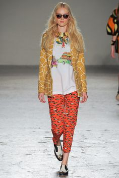 Stella Jean Spring 2015 Ready-to-Wear Collection Photos - Vogue