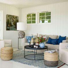 Sommerhytte - Inspirasjon til sommerhytta | Fargerike Outdoor Furniture Sets, Outdoor Decor, Duvet, Ikea, Cottage, Cabin, Interior Design, Inspiration, Home Decor