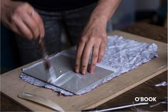O'BOOK How books & illustrations are made - material, production process, design.