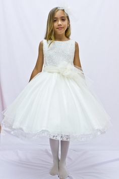 Vestidos cortos de comunion para ninas