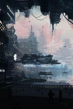 endless city 3 by HeavenlyDeamonic