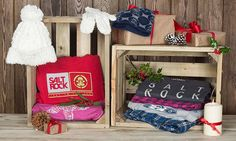 Need gift ideas for Christmas? why not take some inspiration for our Christmassy gift bundles and get your kids some great Saltrock gifts, from hoodies, to pyjamas or winter accessories, Saltrock has everything you need.