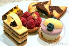 The Dorchester is one of the most famous places for afternoon tea in London.