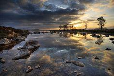 Breathtaking! Rannoch Moor, #GodsCountry Scotland #ScottishRoutesonPinterest