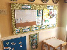 Home-school Preschool learning area