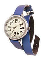Cobalt Calvary Double-Wrap Watch at PLASTICLAND