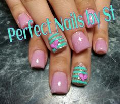 Acrylic nails-not the accent nail
