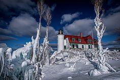 Photo of Point Betsie Light House Benzie County,MI #PureMichigan,