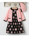 Fashionable Rose Outfit from Janie and Jack. one of my favorite stores for kidlets! Toddler Girl Outfits, Little Dresses, Little Girl Dresses, Toddler Fashion, Kids Outfits, Kids Fashion, Girl Dress Patterns, Baby Kind, Little Girl Fashion
