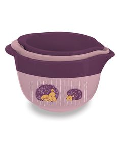 Take a look at this Hedgehog Nesting Mixing Bowl Set today!