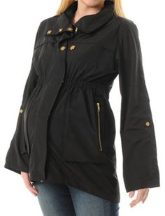 A Pea in the Pod Collection: Ali Ro Button Front Maternity Jacket