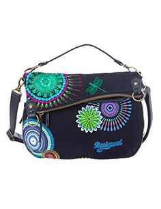 Desigual Folded Eclipse Woven Cross Body Bag, Black, One Size Price: $89.00 & FREE Shipping