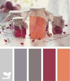from design seeds-preserved hues Colour Schemes, Color Patterns, Color Combinations, Colour Palettes, Design Seeds, Color Harmony, Color Palate, Colour Board, World Of Color