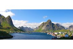 Take a drive to Reine, one of the most spectacularly located villages in Europe, if not the world.