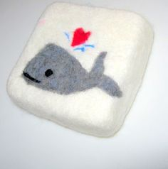 Whale You Love Me  Felted Soap by IguanaMakeIt on Etsy, $18.00