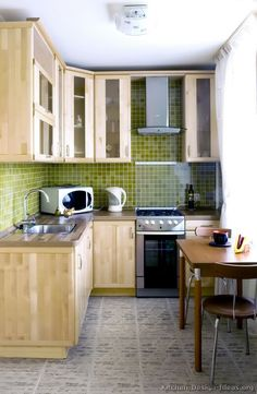 1000 images about small kitchens on pinterest small for Small square kitchen ideas
