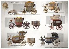 ArtStation - Carriage Designs, Gian Andri Bezzola