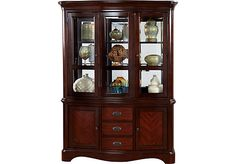 Shop for a Granby 2 Pc China at Rooms To Go. Find China Cabinets that will look great in your home and complement the rest of your furniture. Cabinets For Sale, Built In Cabinets, China Cabinets, Affordable Furniture Stores, At Home Furniture Store, Cherry Furniture, Cabinet Furniture, Dining Room, Room Ideas