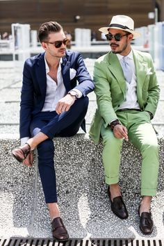 12 Fashion Rules to Steal from Male Street Style Stars | StyleCaster