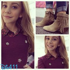 """Photo: G Hannelius Shared A Photo Of Her """"Dog With A Blog"""" Character's Style November 22, 2013"""
