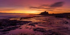 A great view of Bamburgh Castle.