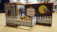 Double Z Halloween card