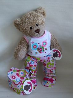 """Build your Bears Wardrobe teddy bear clothes are a compatible fit for 14-16"""" build a bear, The bear factory bears and many more well known Stuff your own teddy bear.   Properly offering the best selection of teddy bear clothes you have seen!"""