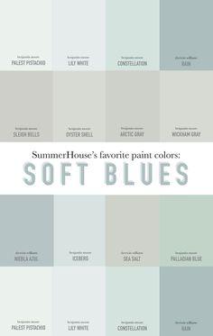 Our Favorite Soft Blue Paint Colors