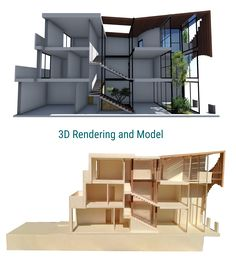 """School project of a detached """"Amsterdam"""" house"""