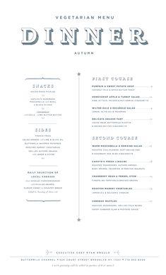 Art of the Menu: Buttermilk Channel Restaurant Identity, Restaurant Menu Design, Restaurant Bar, Bbq Menu, Food Menu, Cafe Menu, Menu Layout, Book Layout, Menue Design