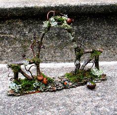 Faery Garden Gate Custom Order. $29.00, via Etsy. Another wonderful piece from Diana Heyne