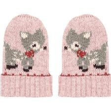 Cath Kidston Knitted Deer Baby Mittens