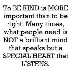 Kindness breeds kindness