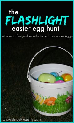 This could be played in the gym with the lights out:The Flashlight Easter Egg Hunt from Let's Get Together